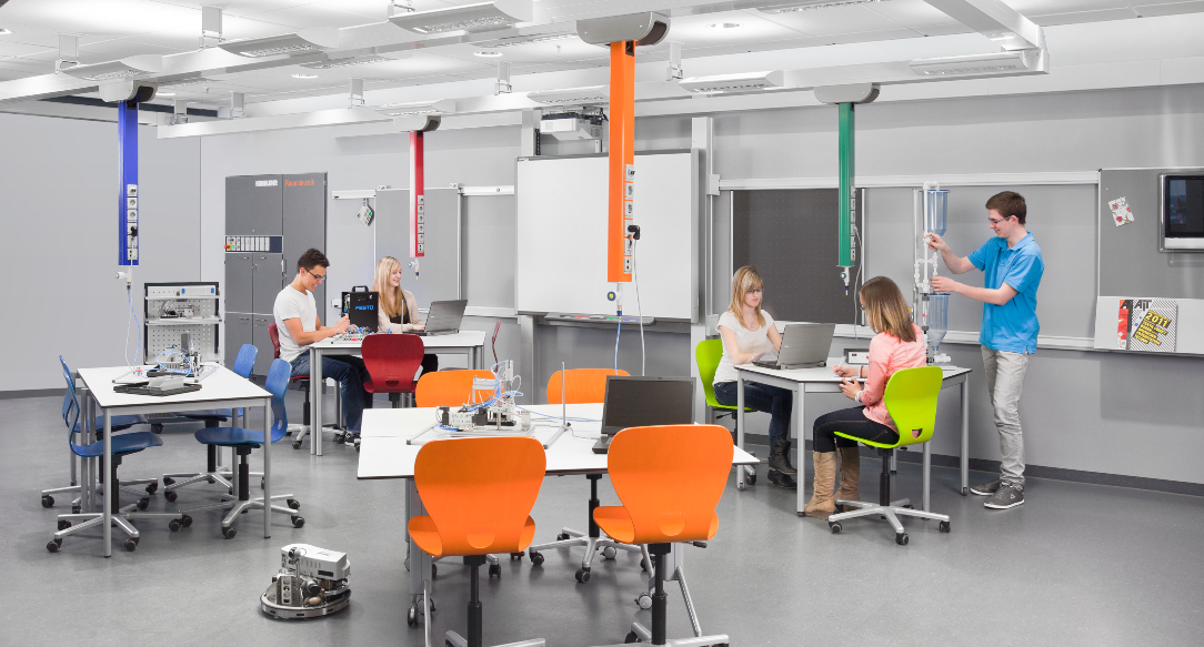 We're laboratory design specialists at Evolve